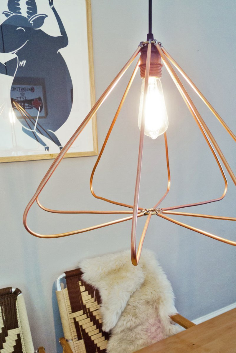Lámpara de tubos de aluminio [DIY]