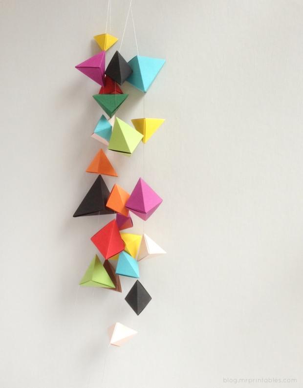hanging-origami