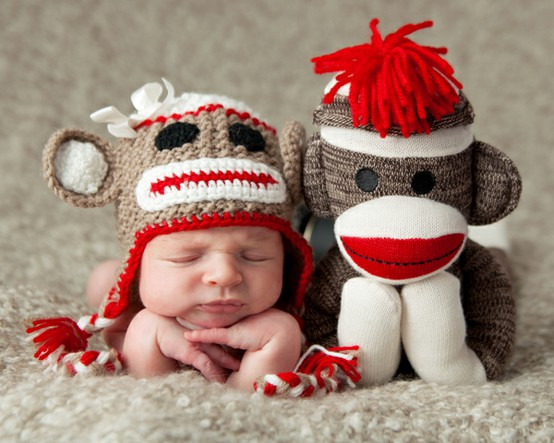 Sock-baby-and-sock-monkey