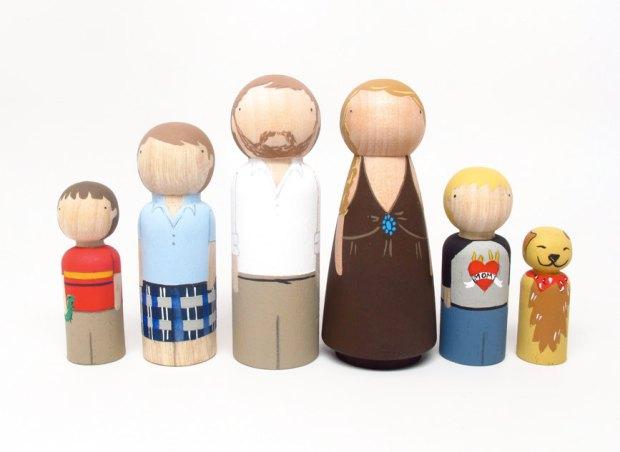 wooden-family
