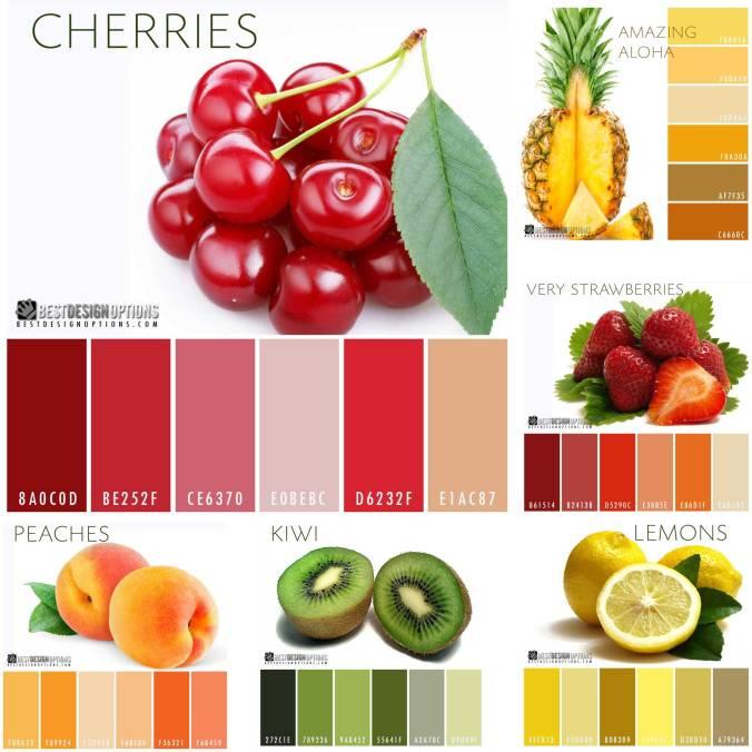 fruits-color-palettes